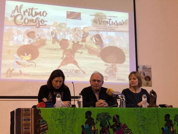 INAUGURACIÓN DEL MES SOLIDARIO: CHARLA DEL PADRE JAVIER NEGRO