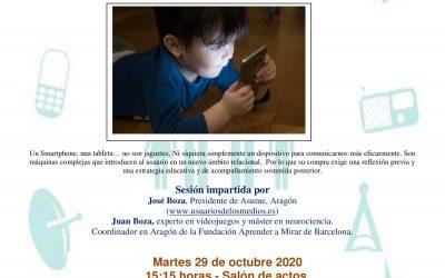 «PADRES 2.0» CHARLA PARA FAMILIAS Y PROFESORADO
