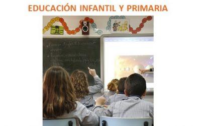 PROCESO DE ESCOLARIZACIÓN EDUCACIÓN INFANTIL Y PRIMARIA. Plazo de presentación de solicitudes:  del 11 al 15 de mayo ambos inclusive.